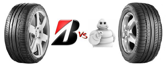 Сходства и различия шинной продукции двух самых популярных брендов Bridgestone и Michelin