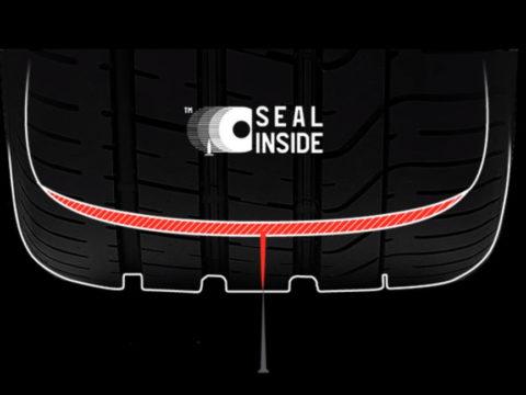 Seal Inside — инновационная технология от Pirelli