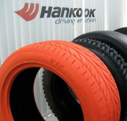 Новинки шин от Hankook
